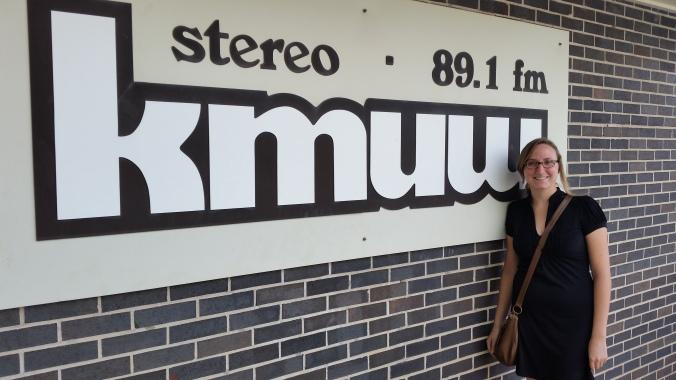 Jen at KMUW